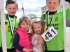 Matthew, Charlotte, Ruby and James Daly enjoyrelaxing after the Cormac run in Eglish