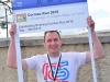 Martin Gallen after completing the Cormac Run 5k in Eglish